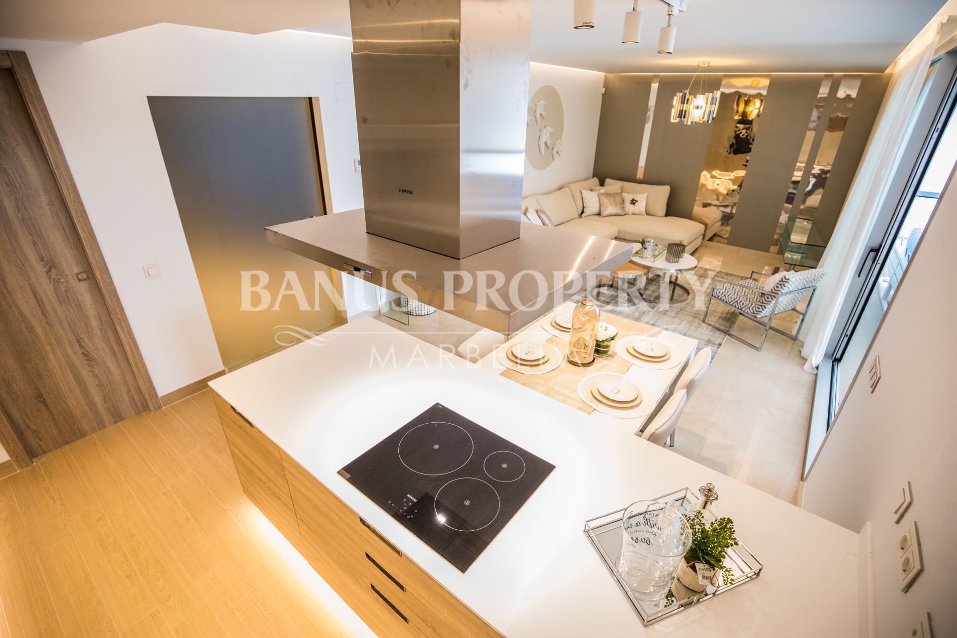 Brand new modern two-bedroom apartment for sale in Nueva Andalucía, Puerto Banús