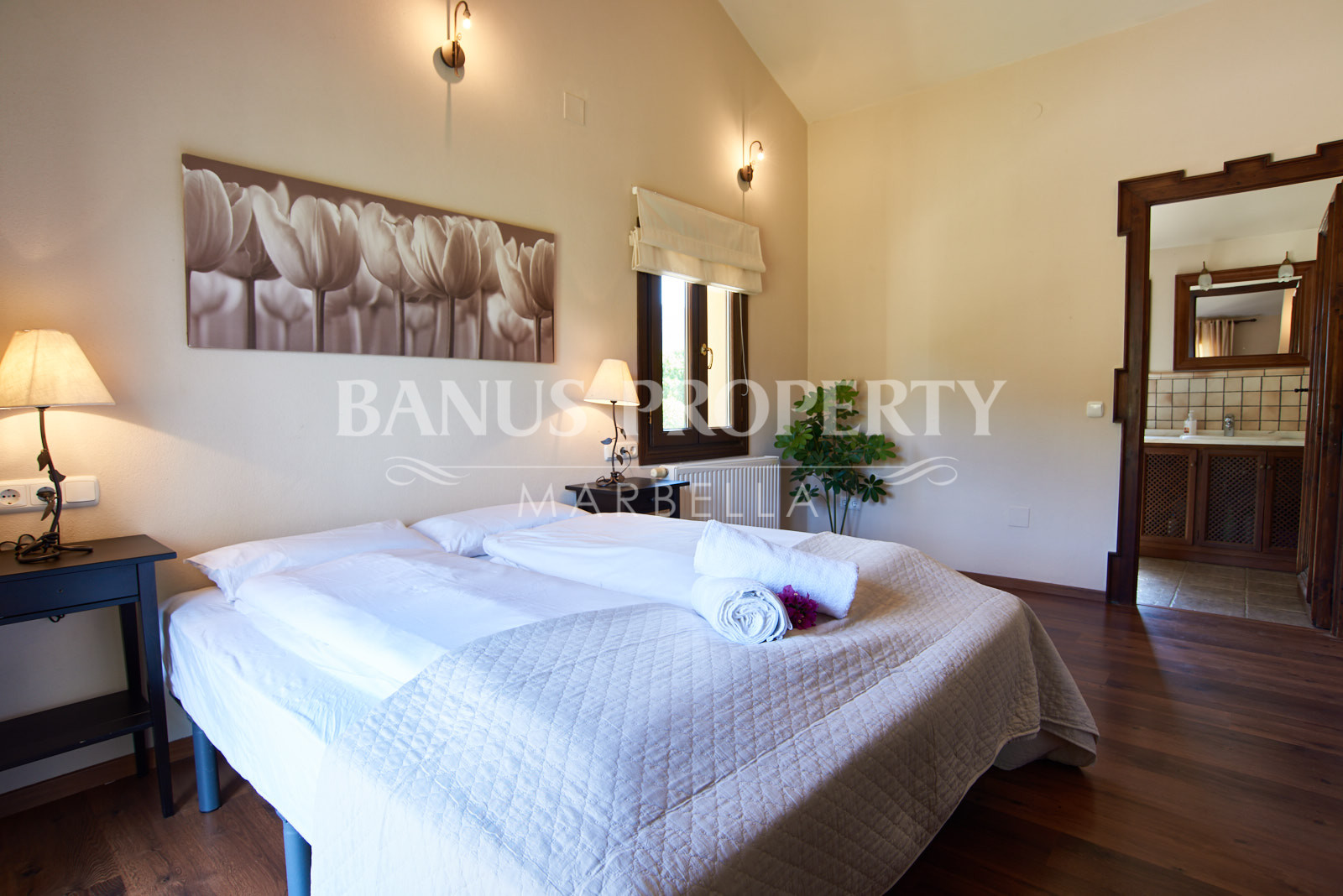 Andalusian style country house with equestrian setting 8-minutes from the coast of Casares