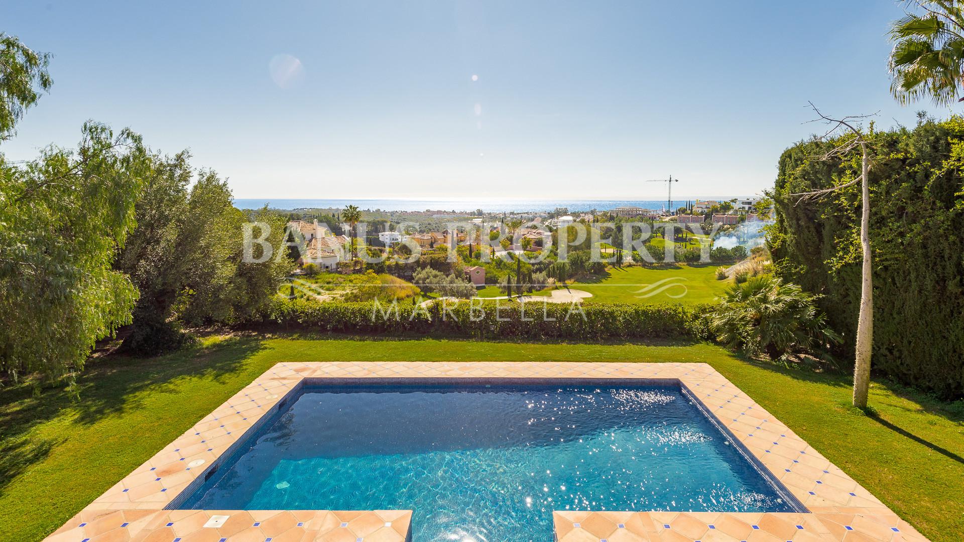 The Best Frontline Golf Villa Opportunity In Los Flamingos