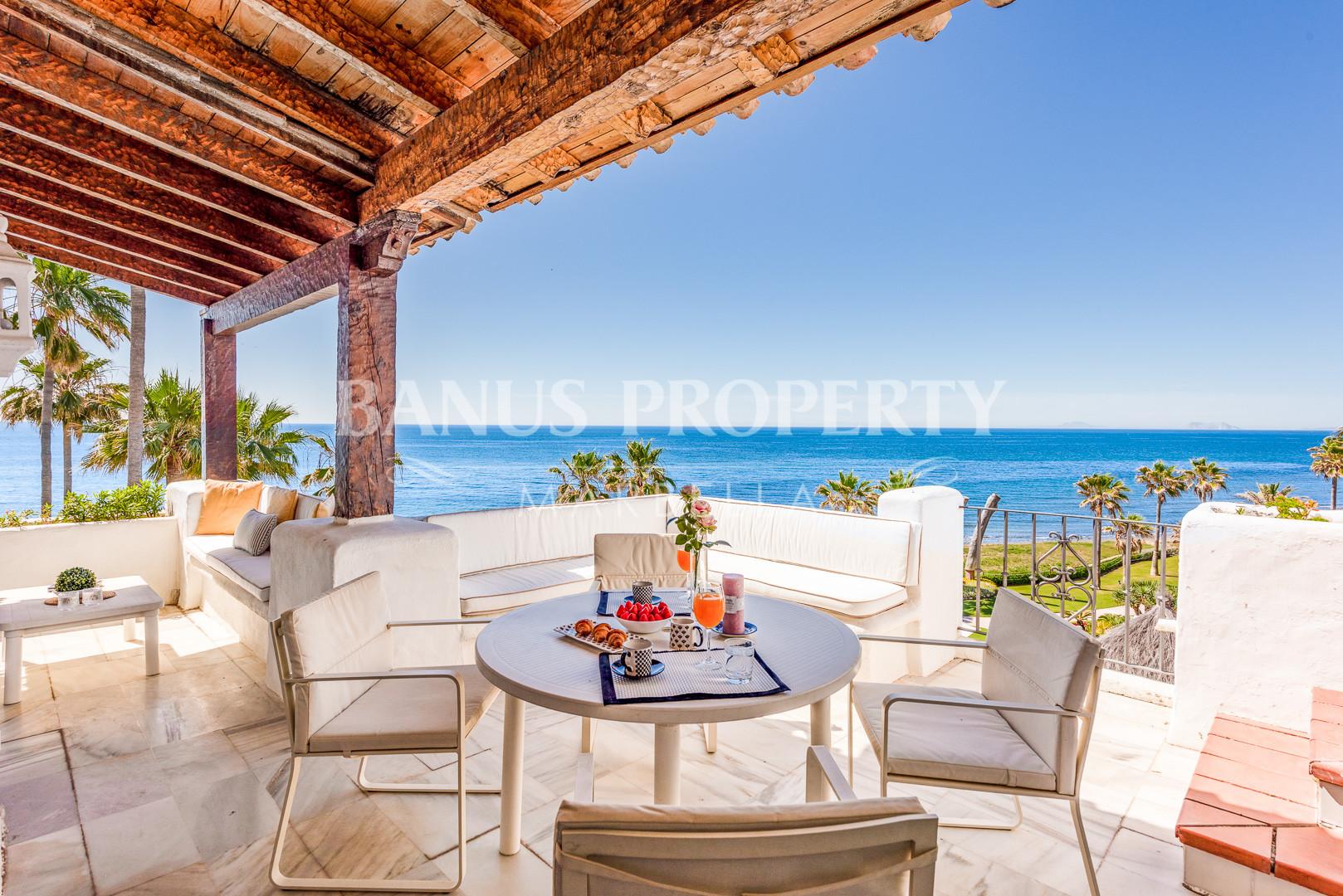 3 Bed Penthouse in The Frontline Beach complex Alcazaba Beach- Estepona