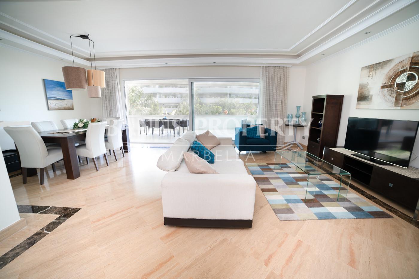 Great and spacious apartment in El Embrujo de Banus