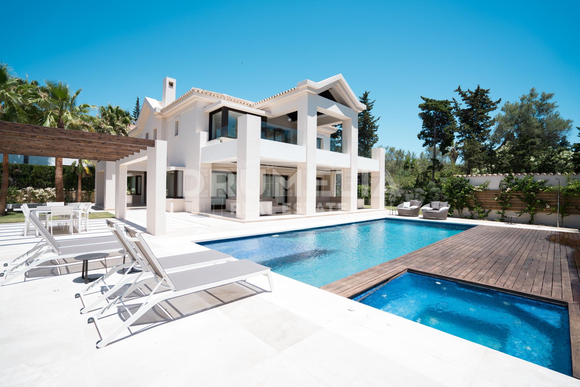 Excepcional contempor neo villa marbella club - Marbella club villas ...