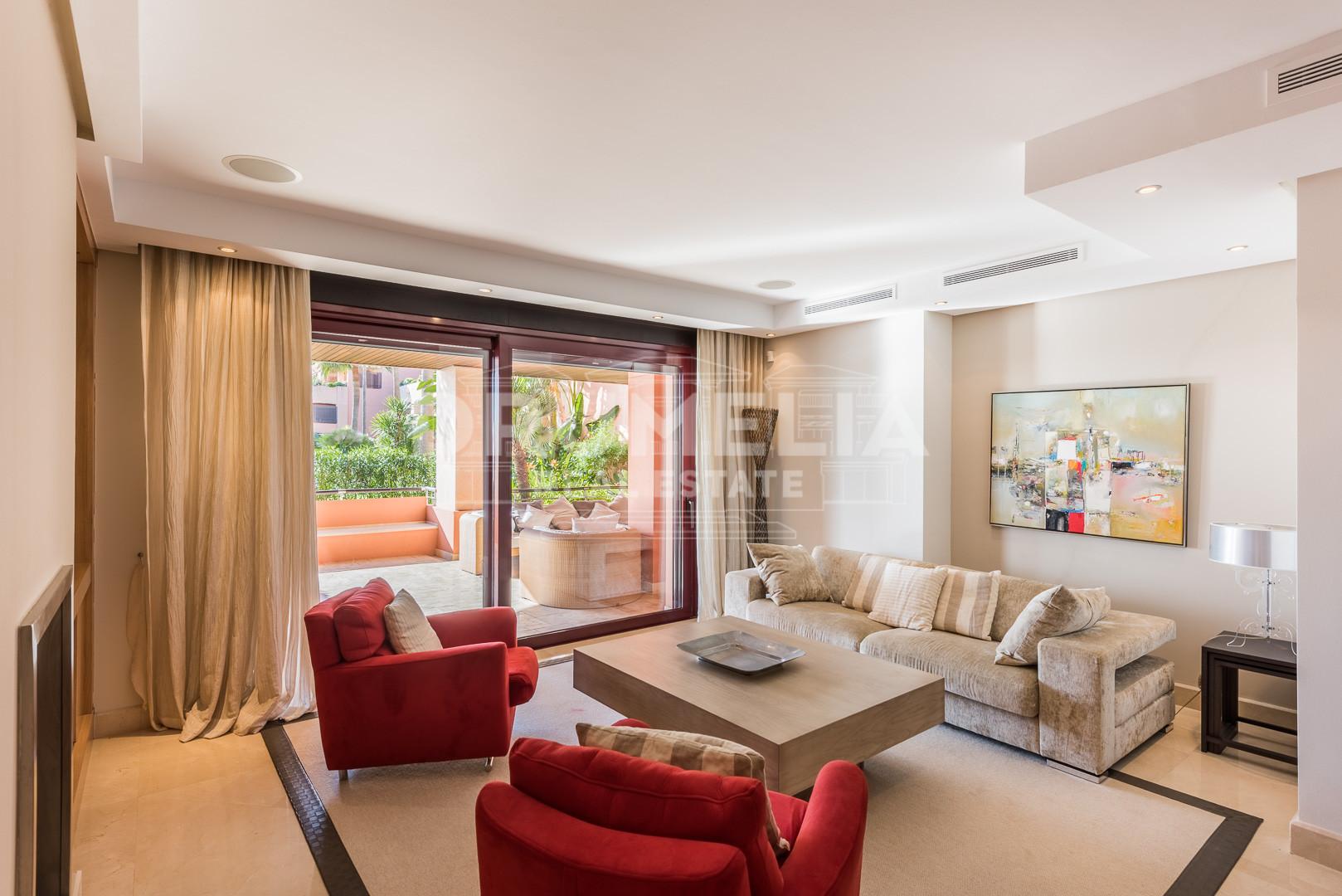 Ground Floor Apartment in Malibu, Marbella - Puerto Banus