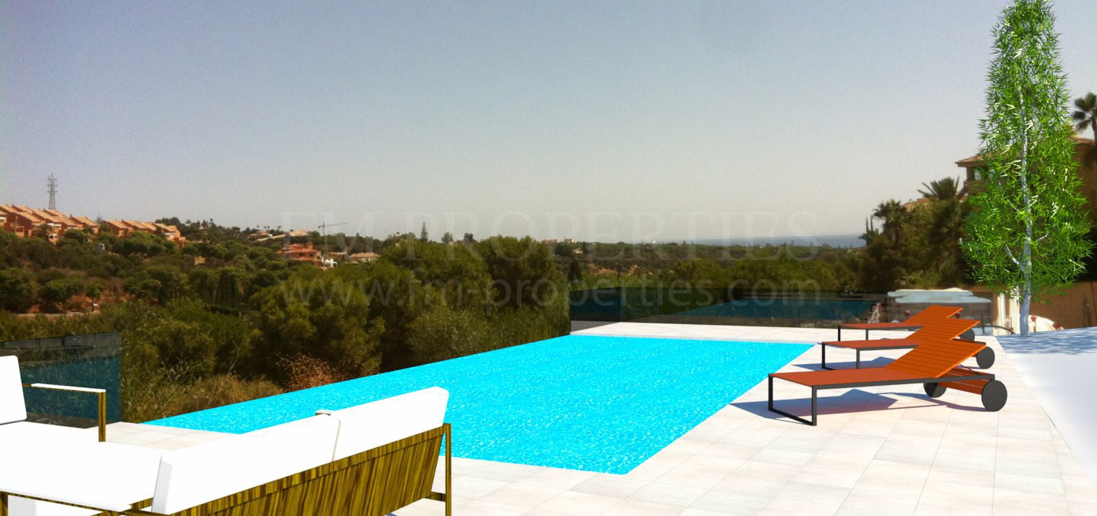 Photo Gallery - Stunning, newly constructed villa in Elviria, frontline to the Santa Maria golf course.