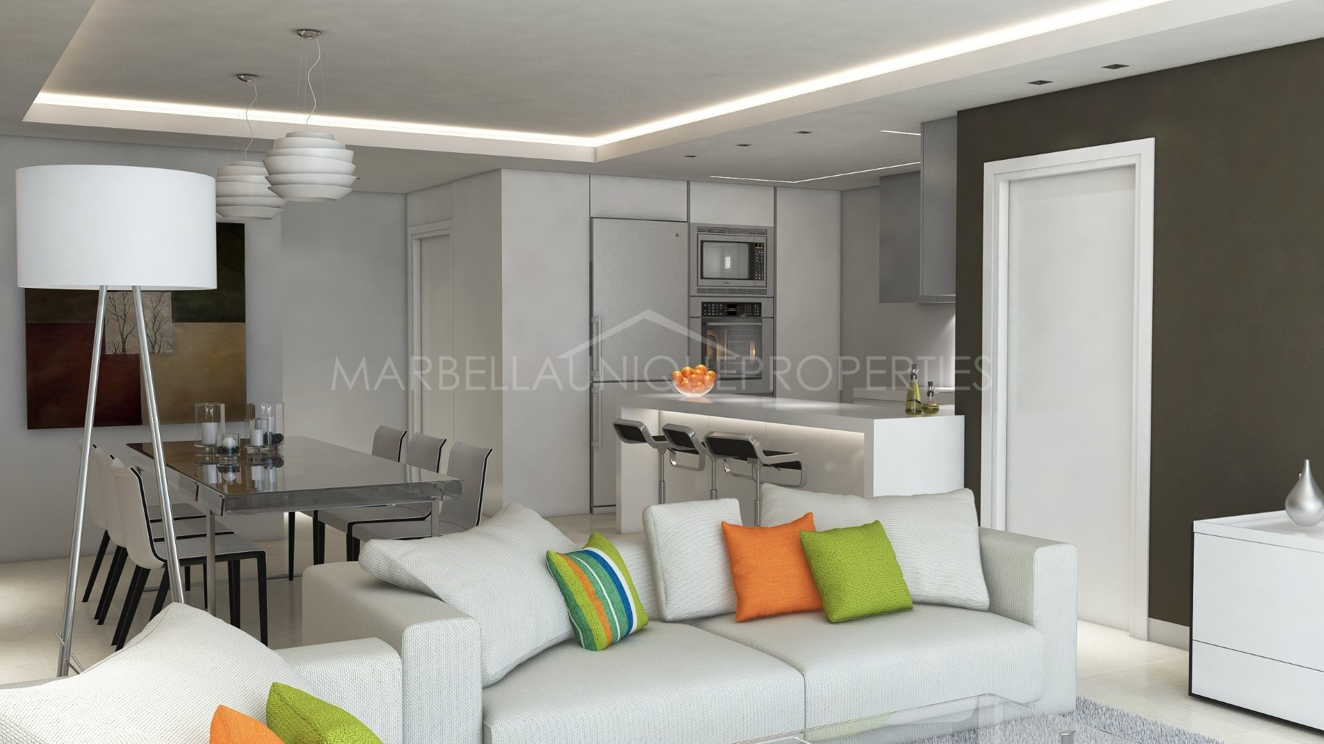 Elegant 2 Bedroom Ground Floor Contemporary Apartment In Nueva Andaluca