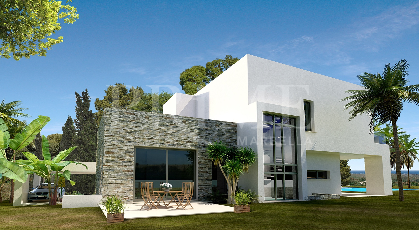 Golden Mile Contemporary Off Plan Villa Project Marbella