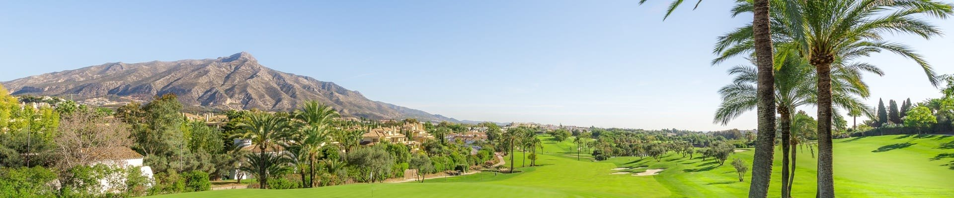 Am golfplatz immobilien in Marbella