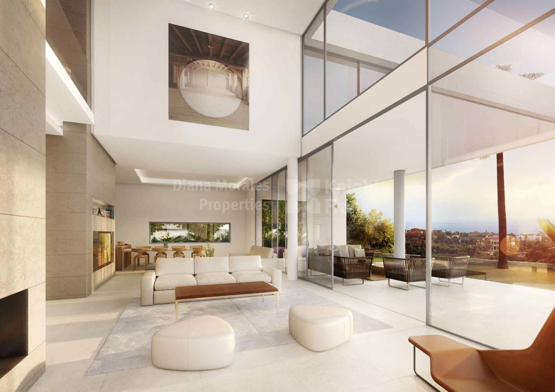 santa clara promoci n de villas ultra modernas al este de marbella. Black Bedroom Furniture Sets. Home Design Ideas