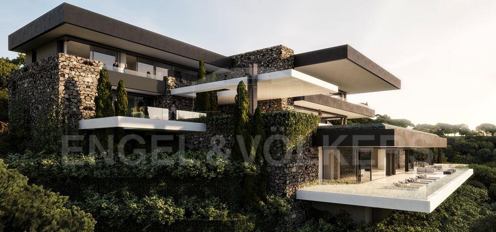 Fantastic Villa Project With Sea Views In La Zagaleta La Zagaleta