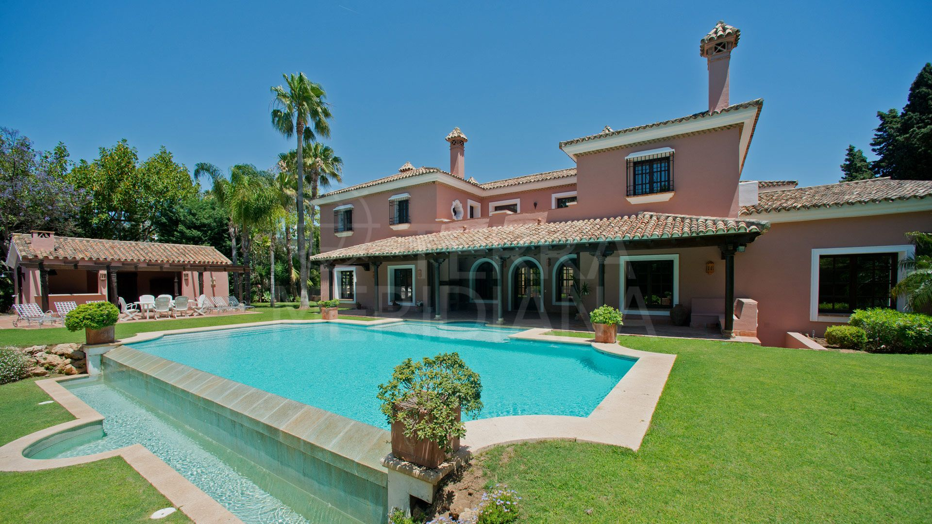 Luxury six bedroom beachside villa for sale, Guadalmina Baja, Marbella