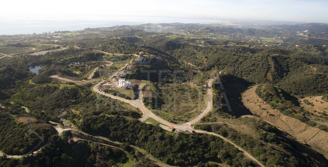 Substantial plot for sale on an exclusive residential development, New Golden Mile, Estepona