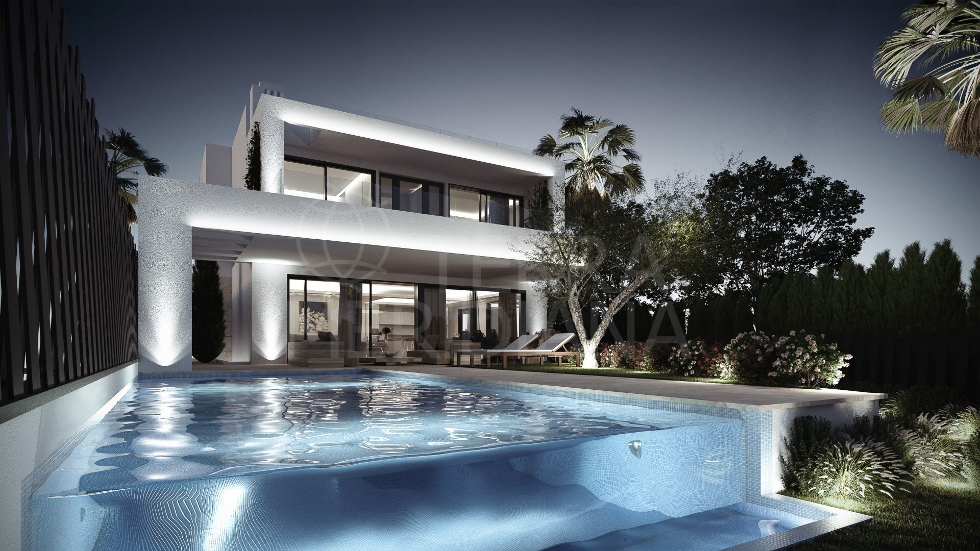 Altos de Puente Romano , Marbella Golden Mile - New gated complex of 5-6 bedroom contemporary luxury villas in the heart of Marbella´s Golden Mile