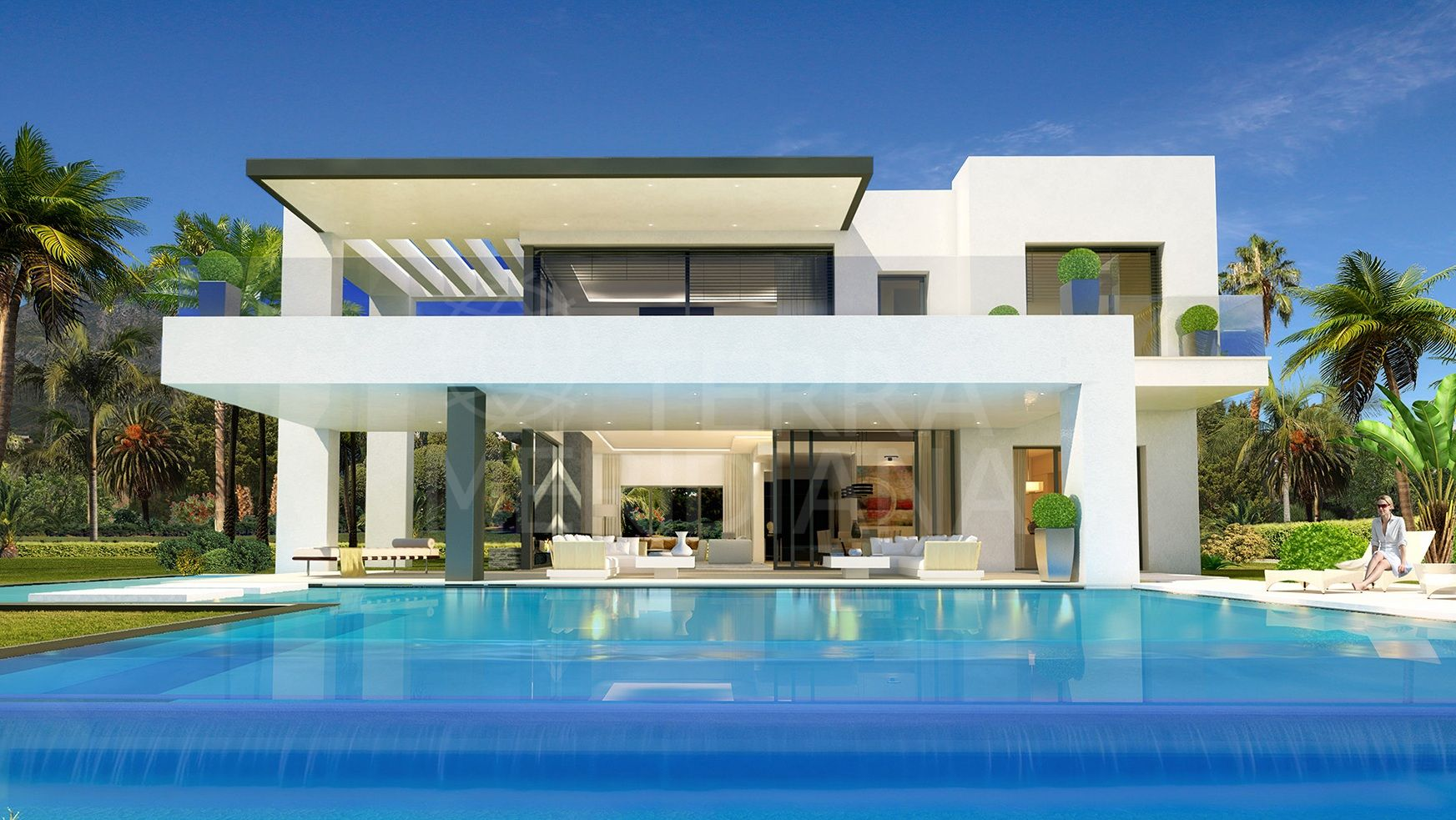 C8ncept Marbella , Marbella Golden Mile - Exclusive project of 8 contemporary villas in a gated community located 5 minutes from Puerto Banus with sea views
