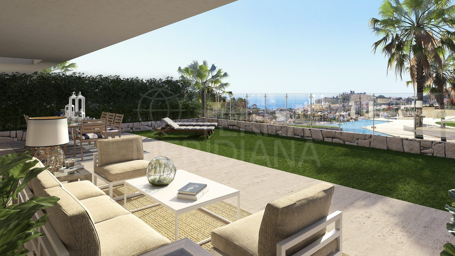 Metrovacesa Citrea, Malaga - Magnificent community near Malaga center of 25 contemporary style apartments with 2 to 5 bedrooms