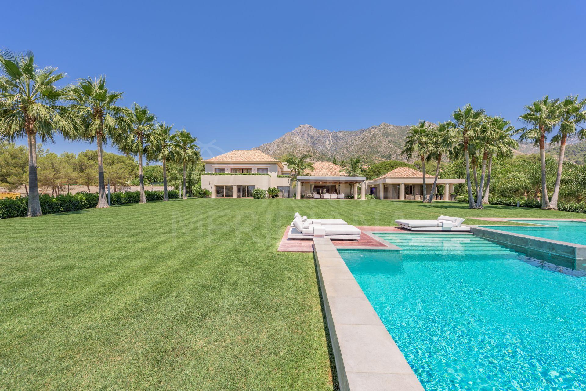 Exquisite Modern Luxury Villa For Sale In La Quinta De Sierra Blanca Marbella Golden Mile
