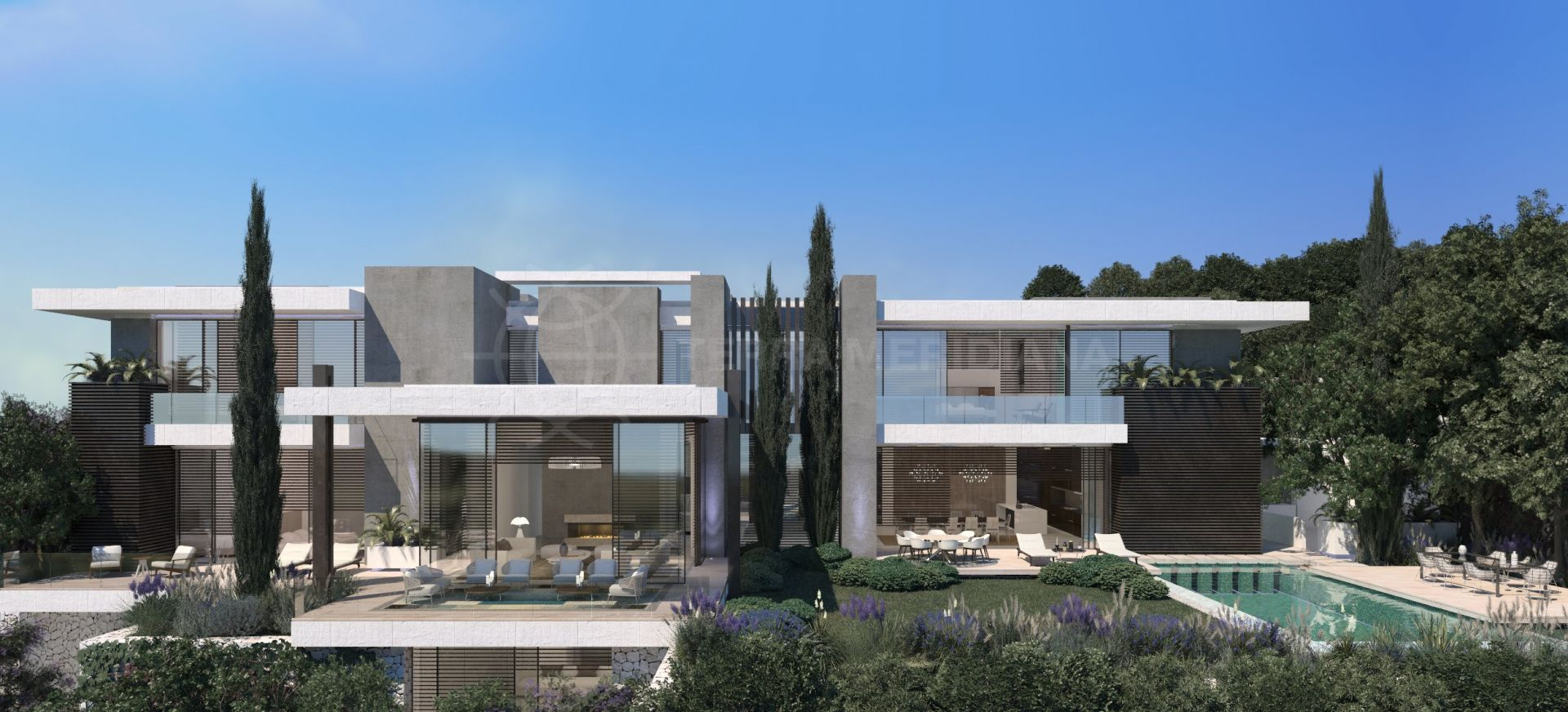 Off Plan Modern Luxury Villa With Panoramic Sea Views For Sale In The  Hills, La Quinta, Benahavis
