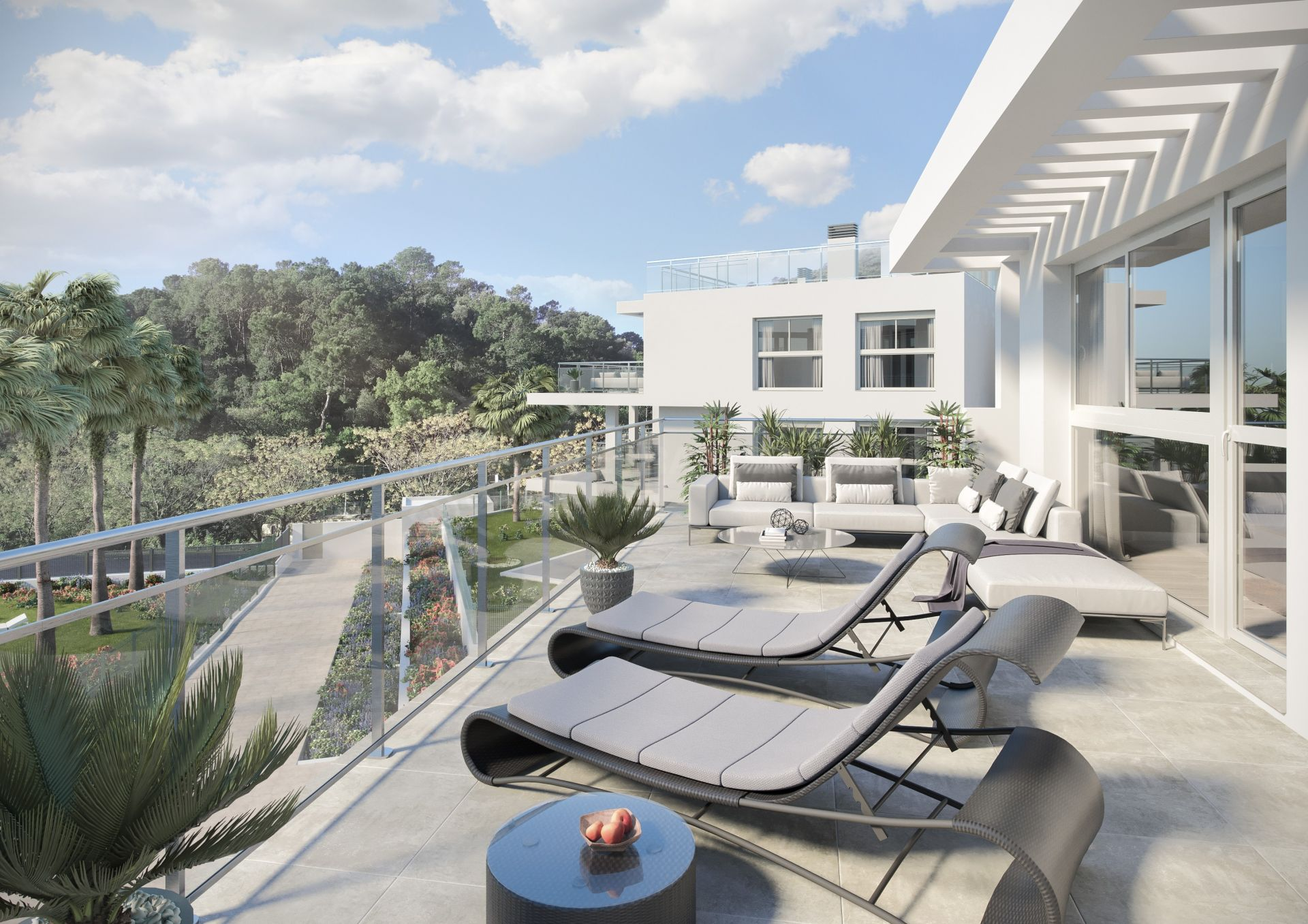 Gorgeous Brand New Luxury Duplex Penthouse For Sale In The Village Of Benahavis