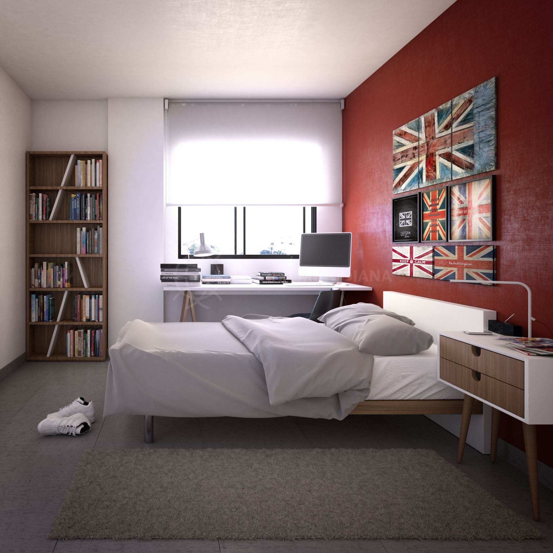 Off Plan Contemporary 2 Bedroom Apartment For Sale In A