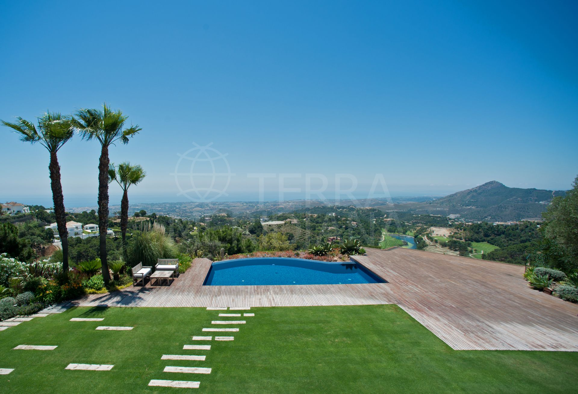 Ultra-exclusive exquisitely designed villa with beautiful views for sale in La Zagaleta, Benahavis