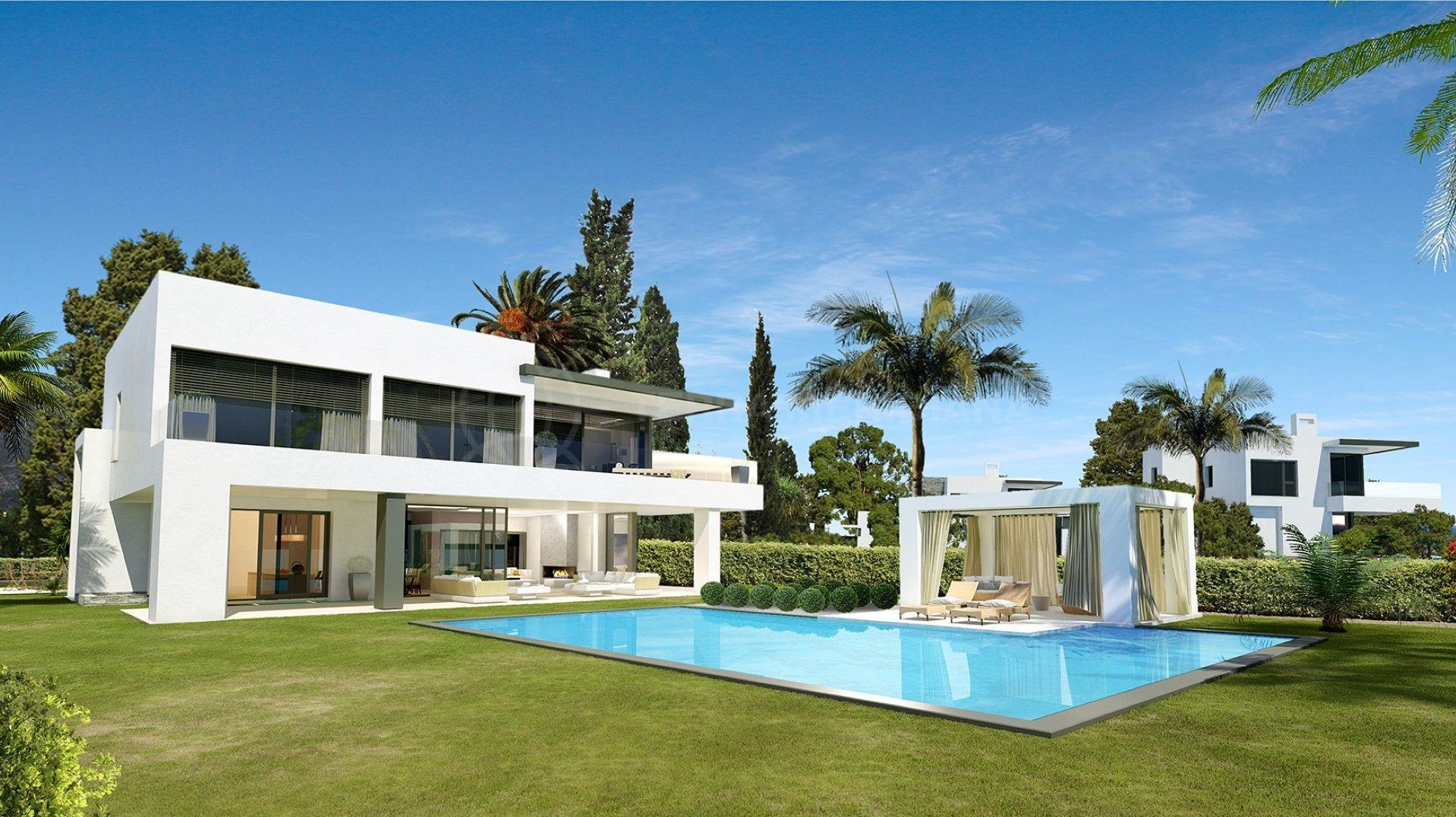 exclusive new development of luxury 4 bedroom villas in marbella s golden mile. Black Bedroom Furniture Sets. Home Design Ideas
