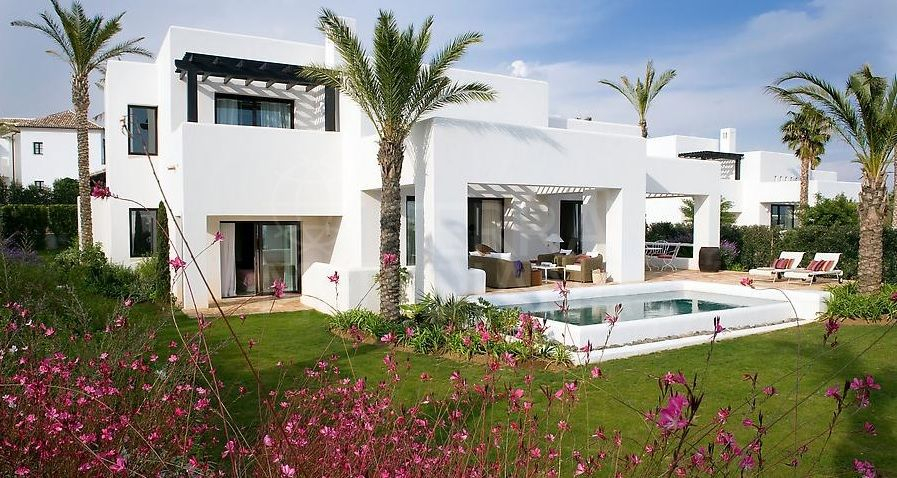 Luxury 4 bedroom villa with sea views for sale in the exclusive Finca Cortesin resort, Casares