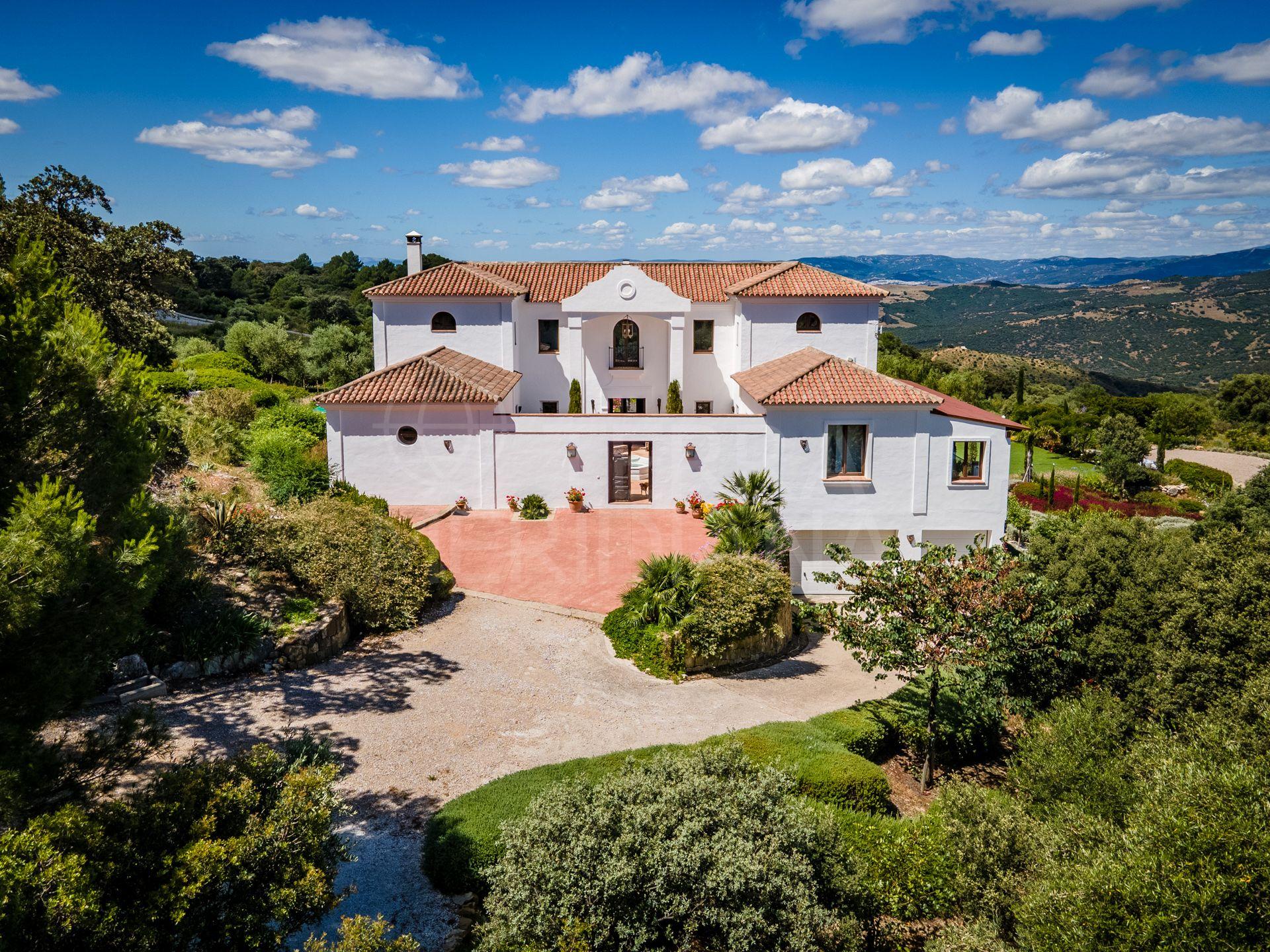 Superb 6 Bedroom Upgraded Spanish Style Villa On Huge Plot For Sale In Gaucin