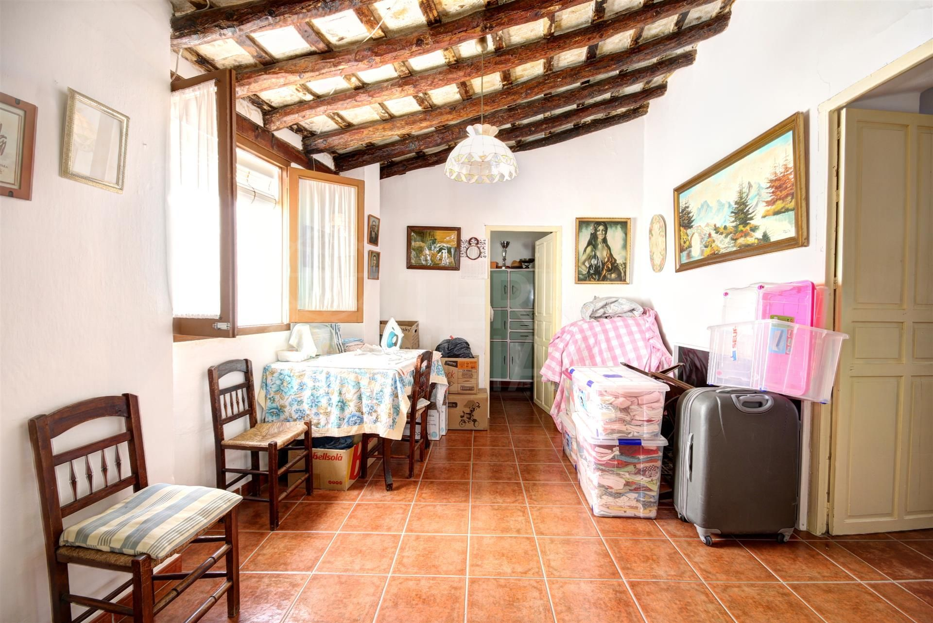 Large corner townhouse for sale in the old town of Estepona