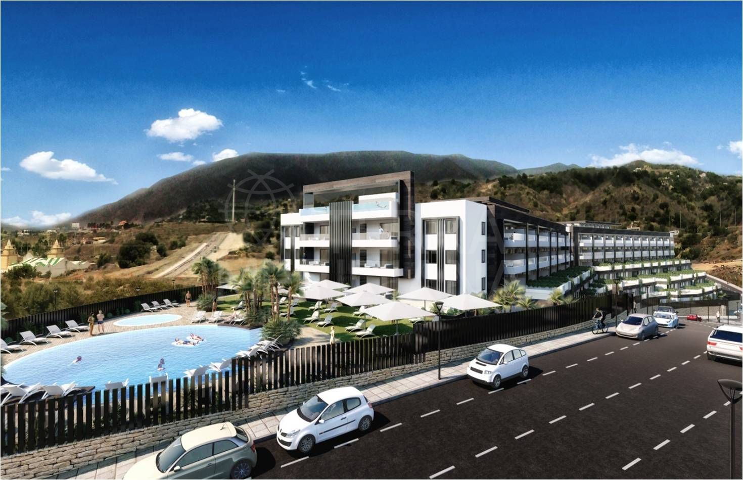 New one bedroom apartment for sale in Residencial Alcudia, Estepona