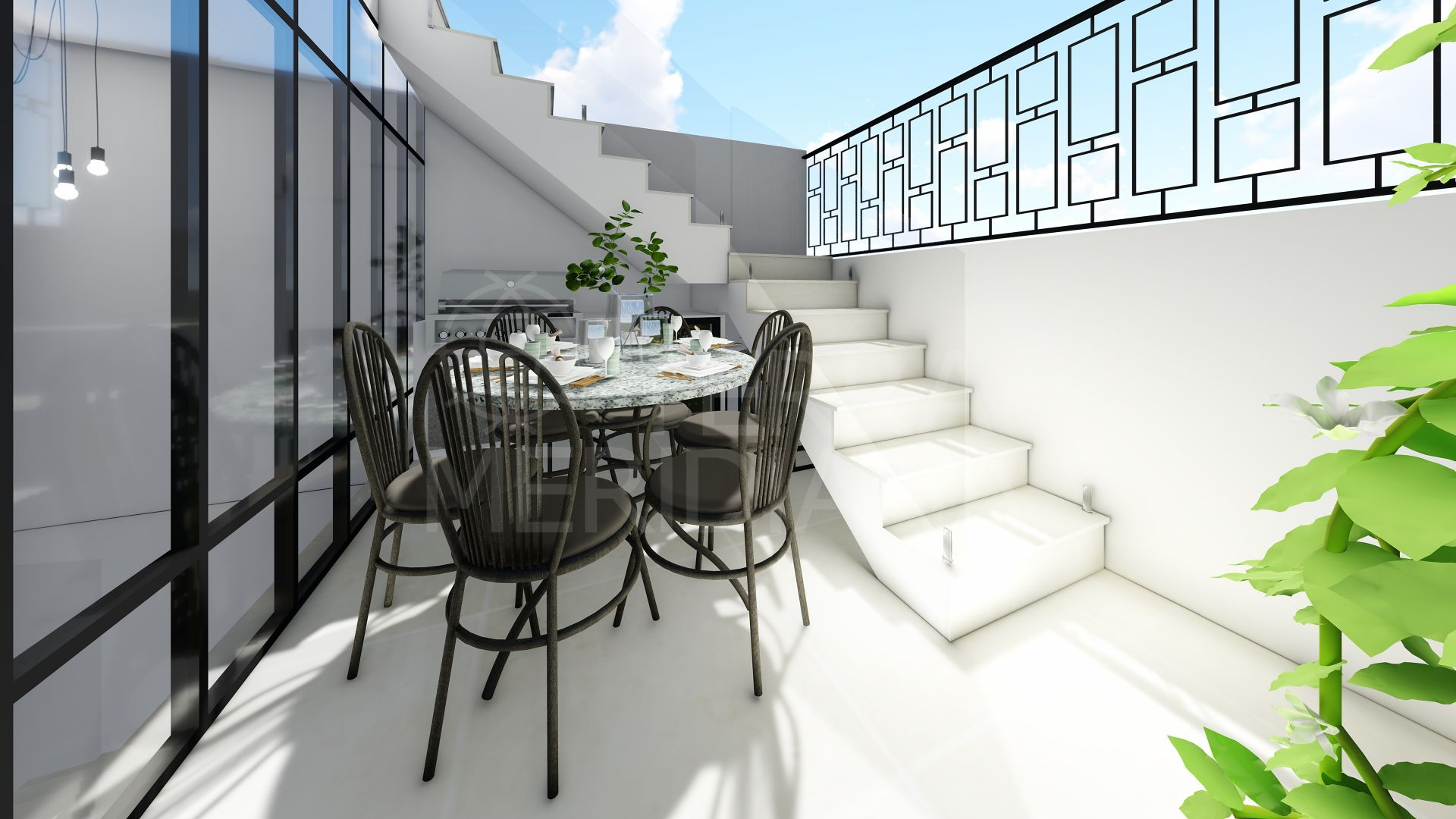 Brand new townhouse for sale in Estepona old town centre
