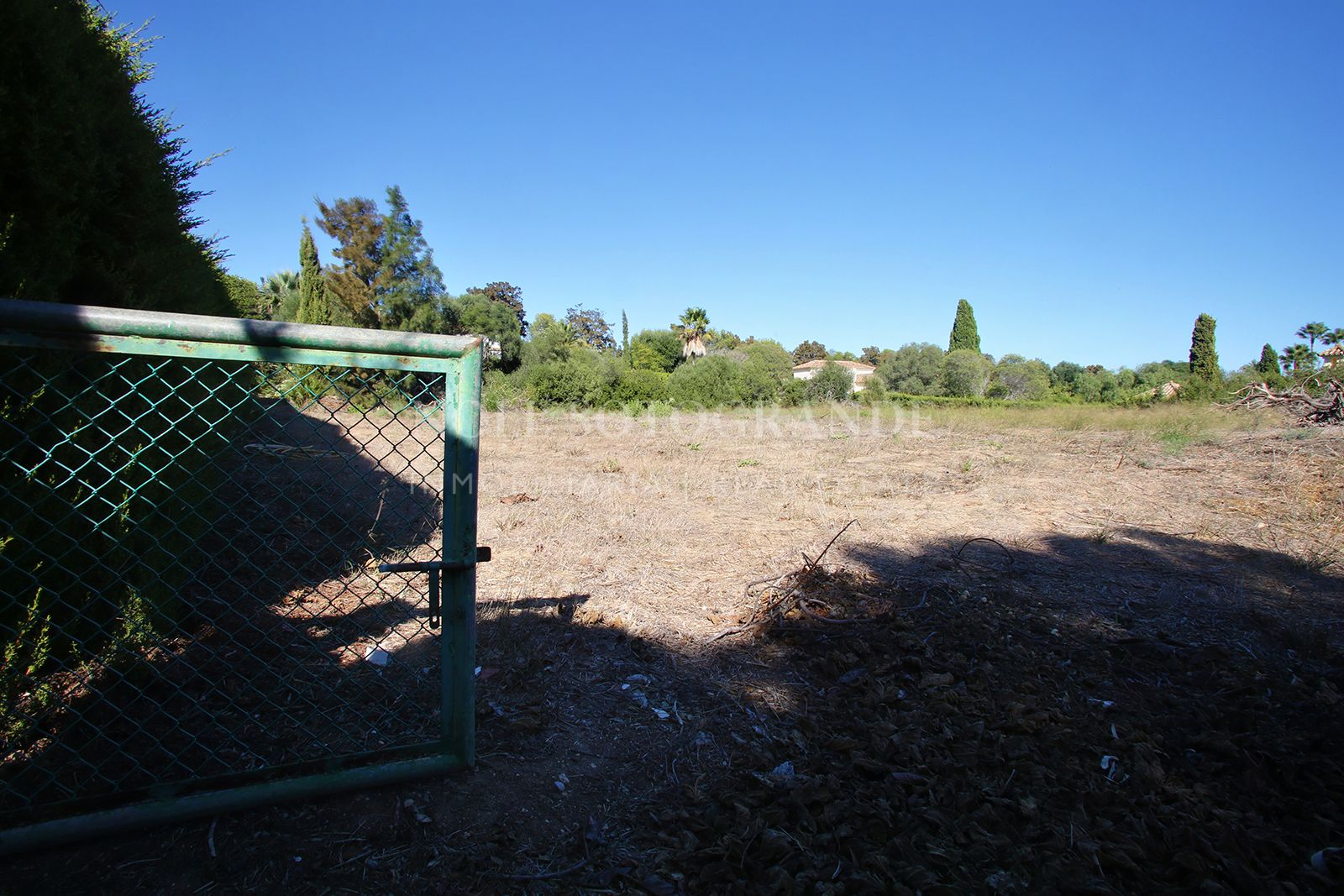 Parcela en venta en Sotogrande lindando a campo de Valderrama