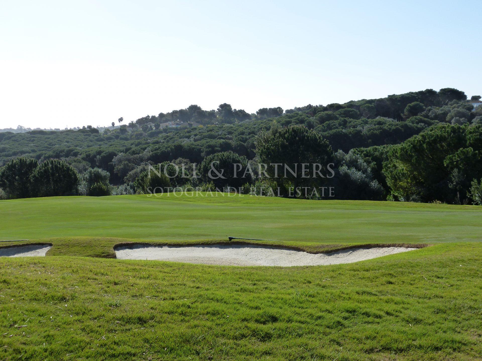 Plot front line golf at La reserva de Sotogrande