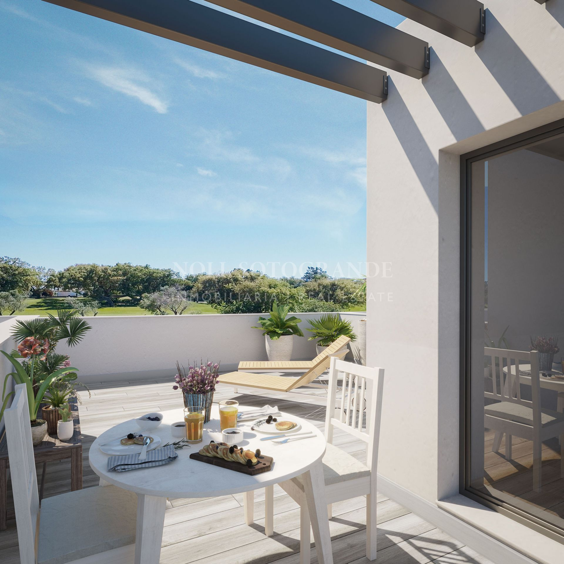 Hoyo 17 San Roque Golf Club, Exclusive front-line townhouses for Sale