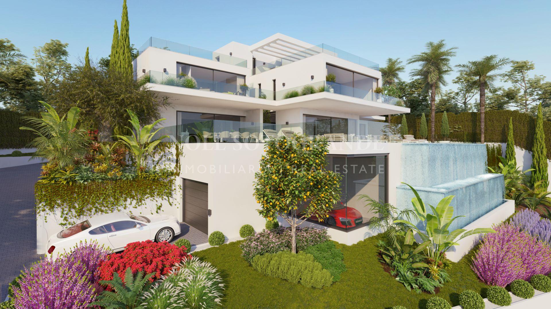 Spektakuläre Villa mit Meerblick zum Verkauf Sotogrande
