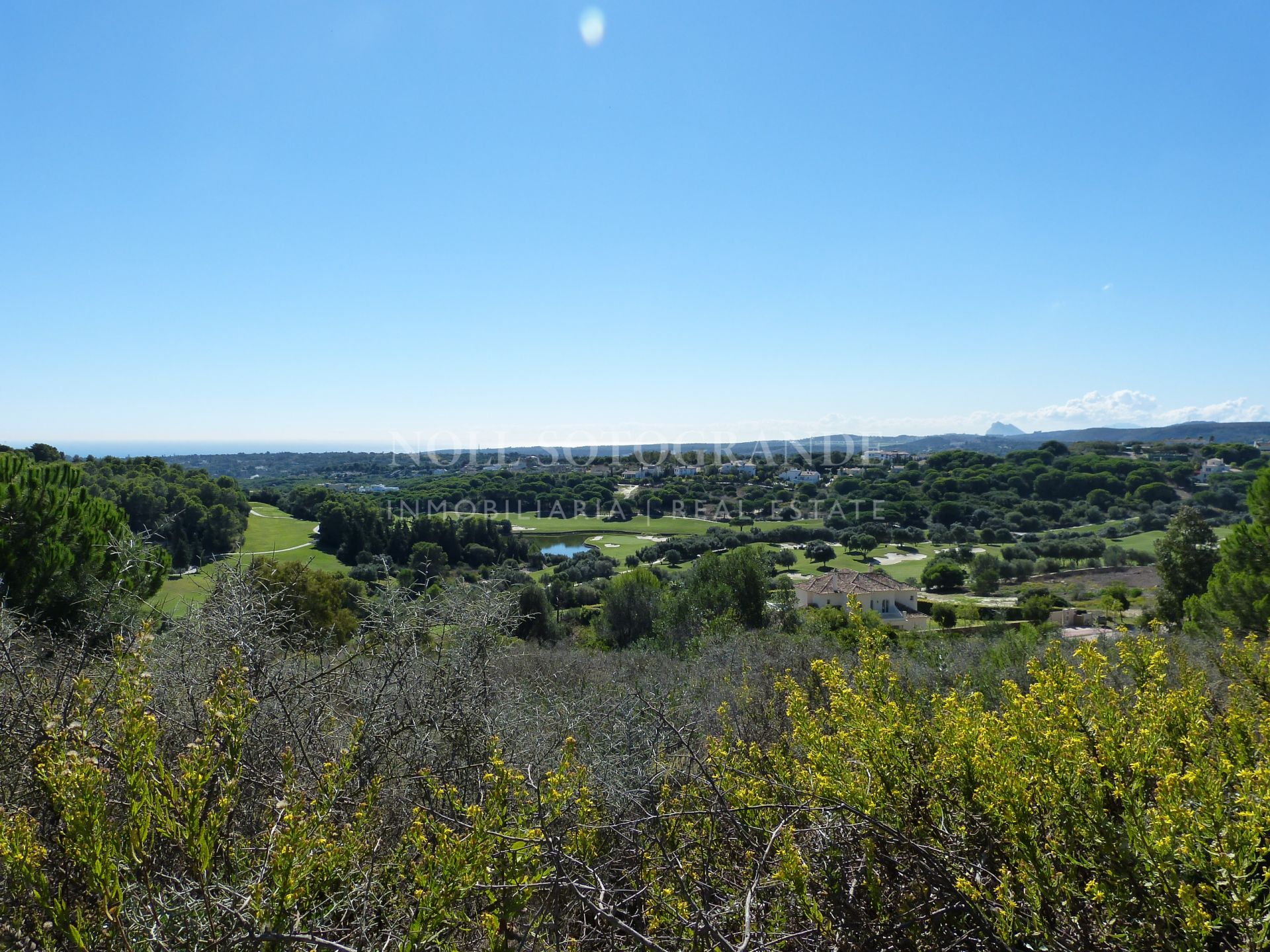 Plot with sea views in La Reserva de Sotogrande