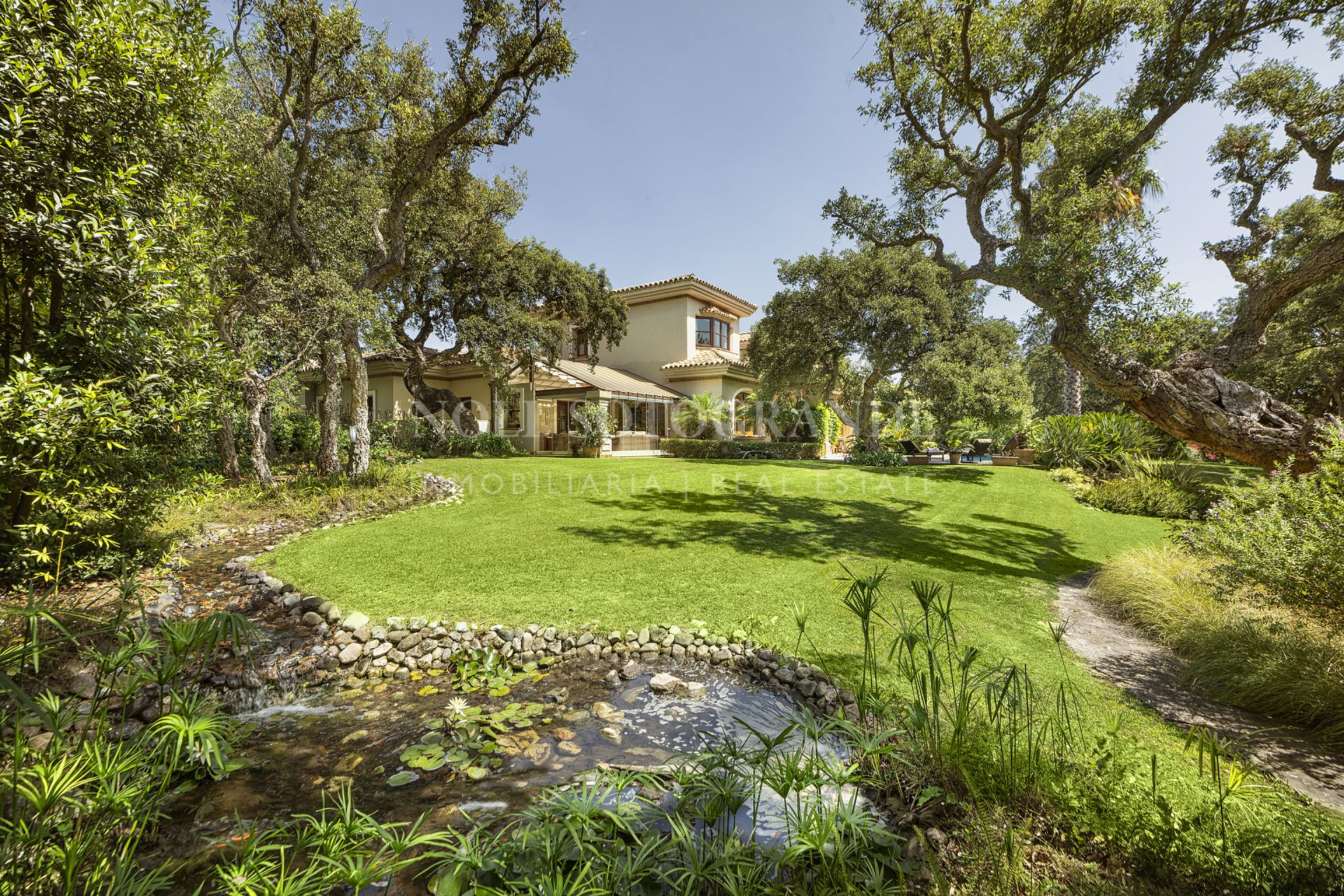 Villa for sale front line to Valderrama in Sotogrande Alto