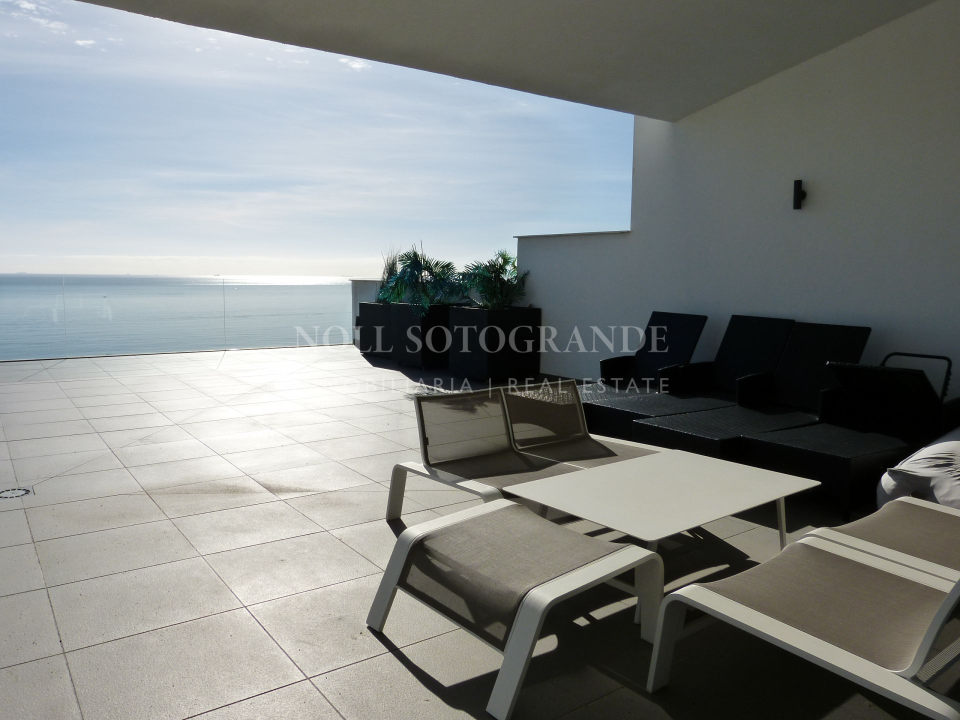 Penthouse with one of the best sea views on the Costa del Sol