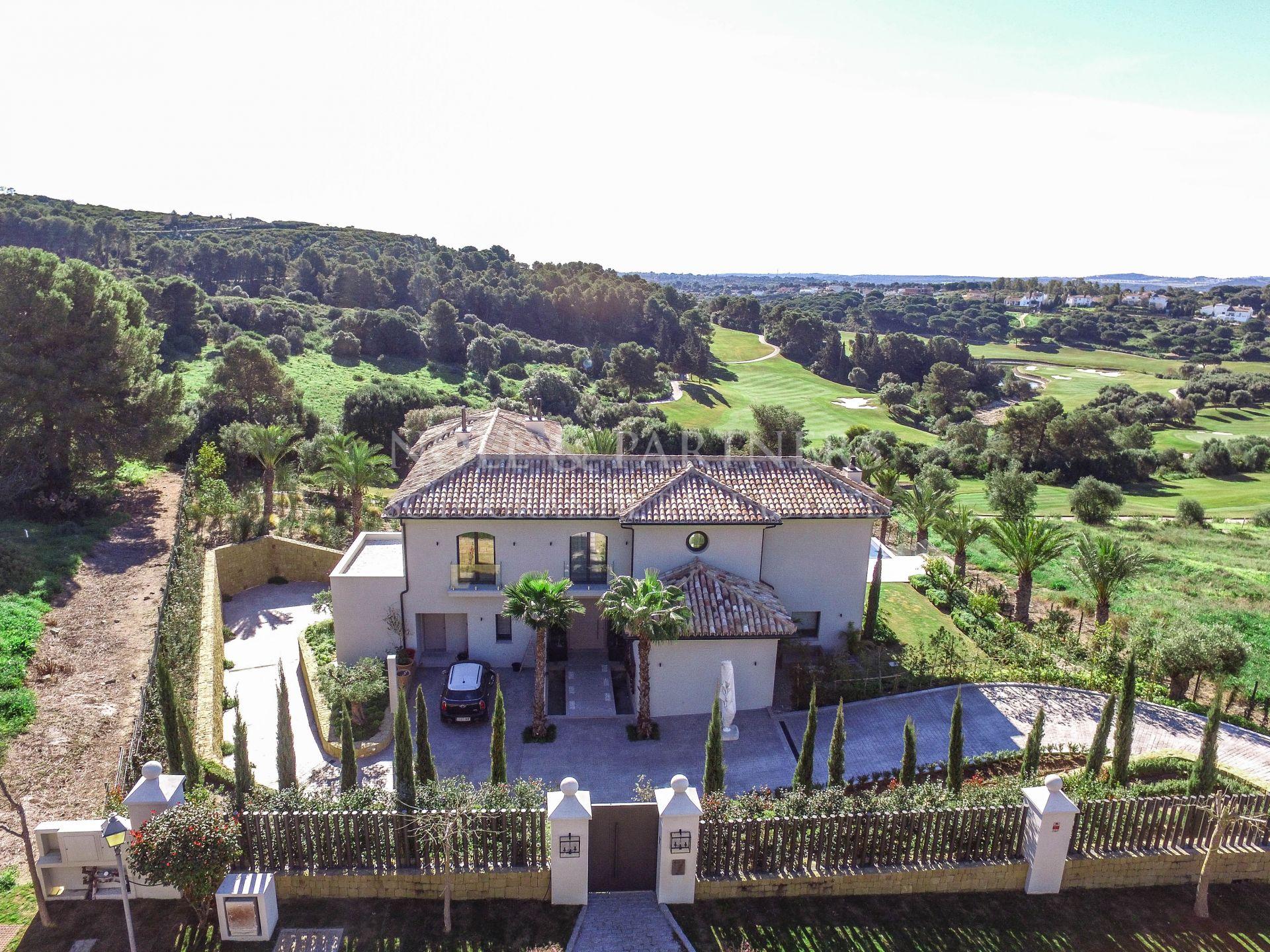 Sotogrande, La Reserva de Sotogrande, Nueva villa familiar en venta.