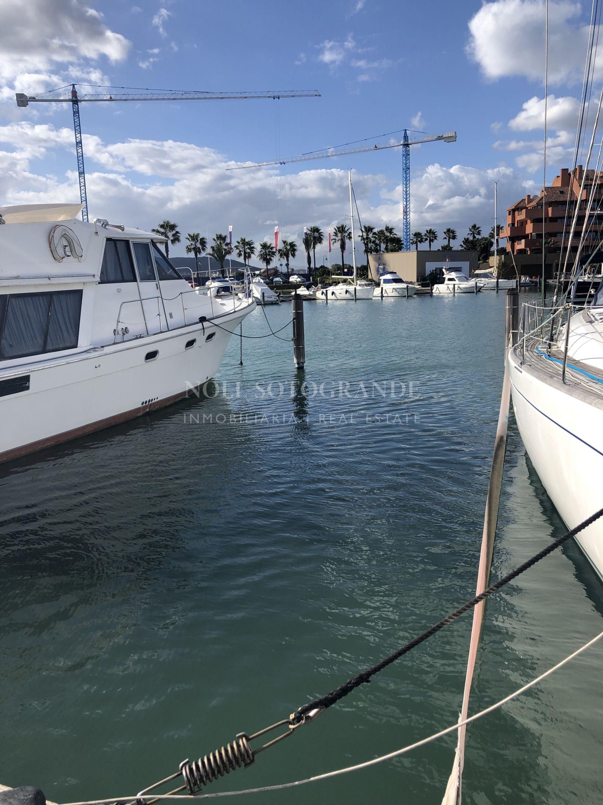 Sotogrande Marina, 15 meter Berth for sale Ribera del Candil