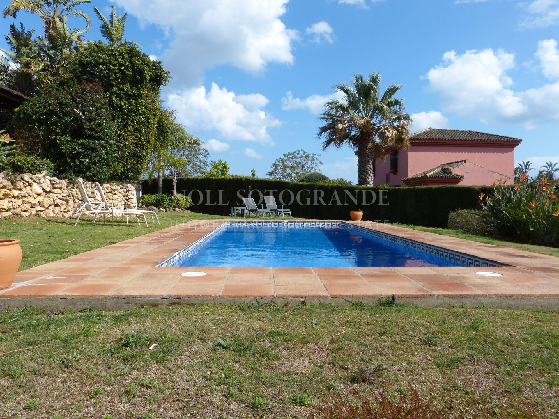 Rental villa next to Sotogrande International School