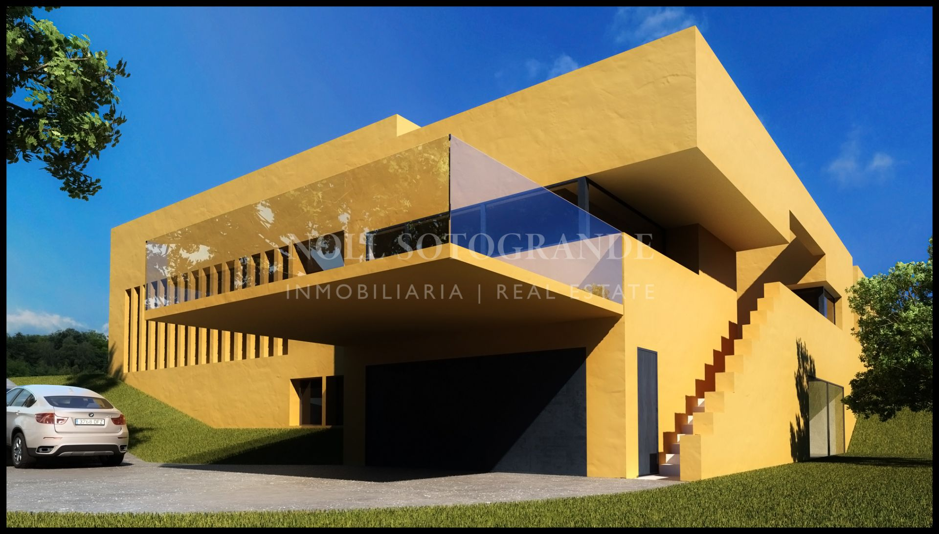 Sotogrande Villa under construction