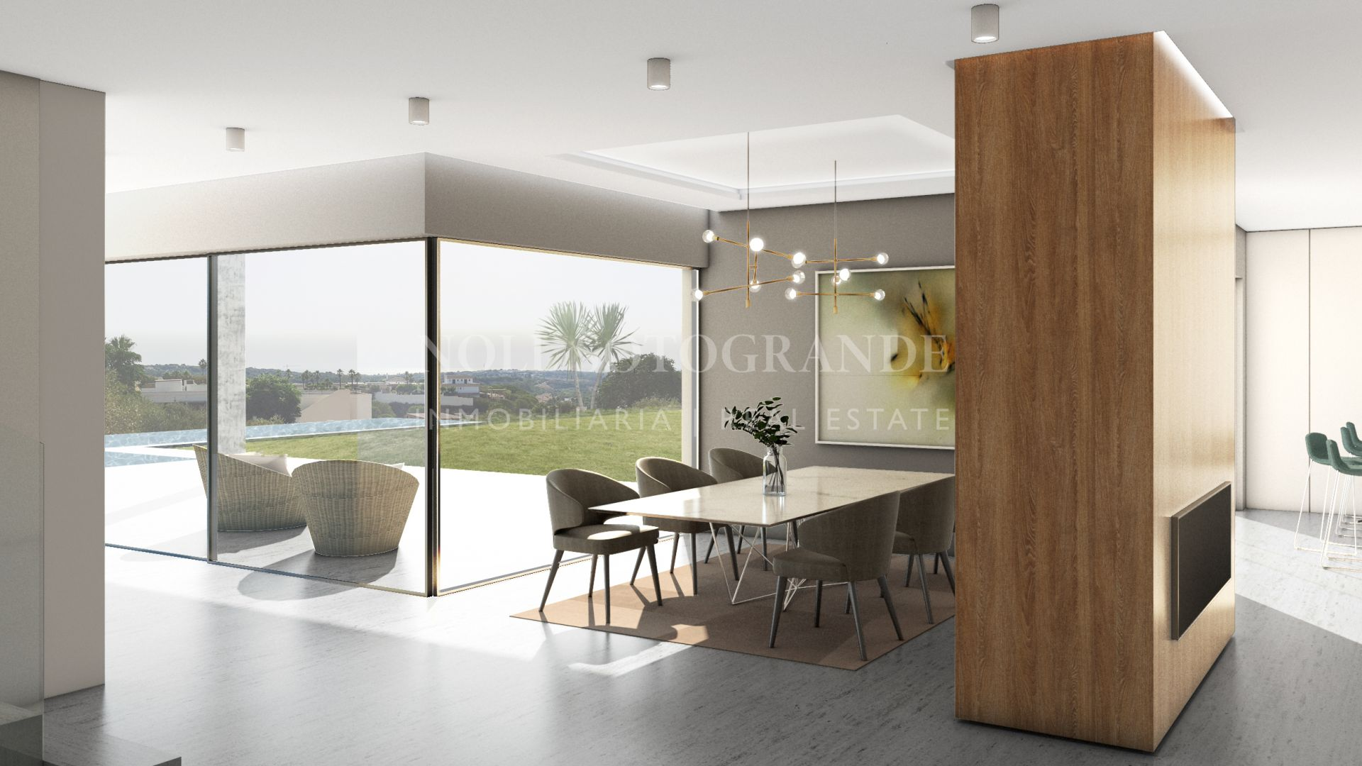 Contemporary off-plan villa with sea views for sale, Sotogrande Alto