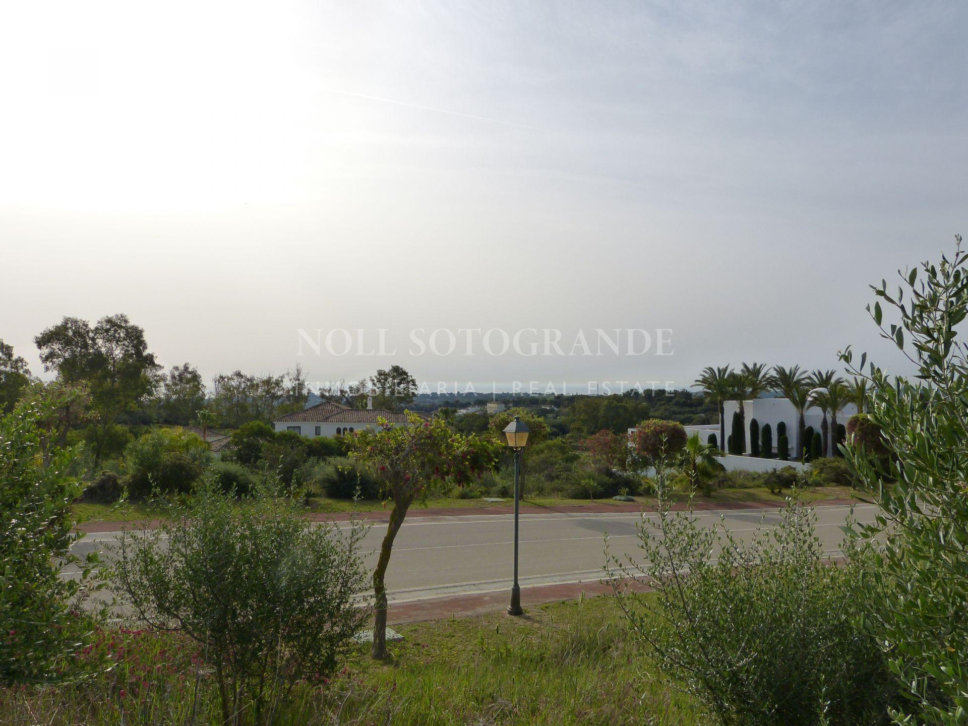 Sea View plot for sale in La Reserva de Sotogrande