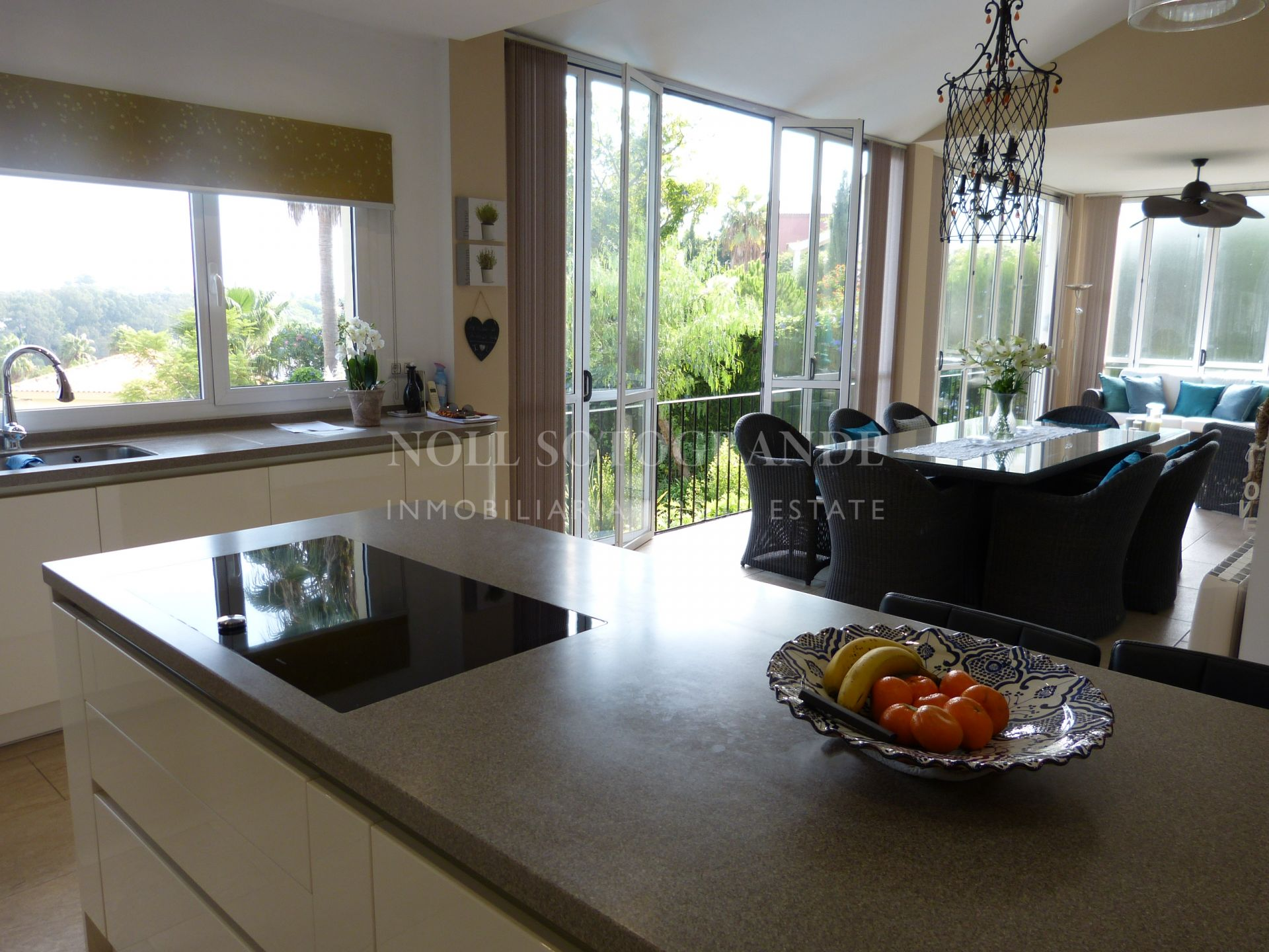 Villa located in Sotogrande Alto, only few minutes drive from the International School.