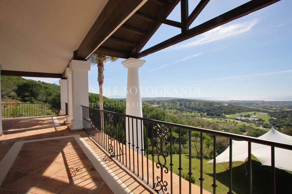 Villa con impresionantes vistas La Reserva de Sotogrande