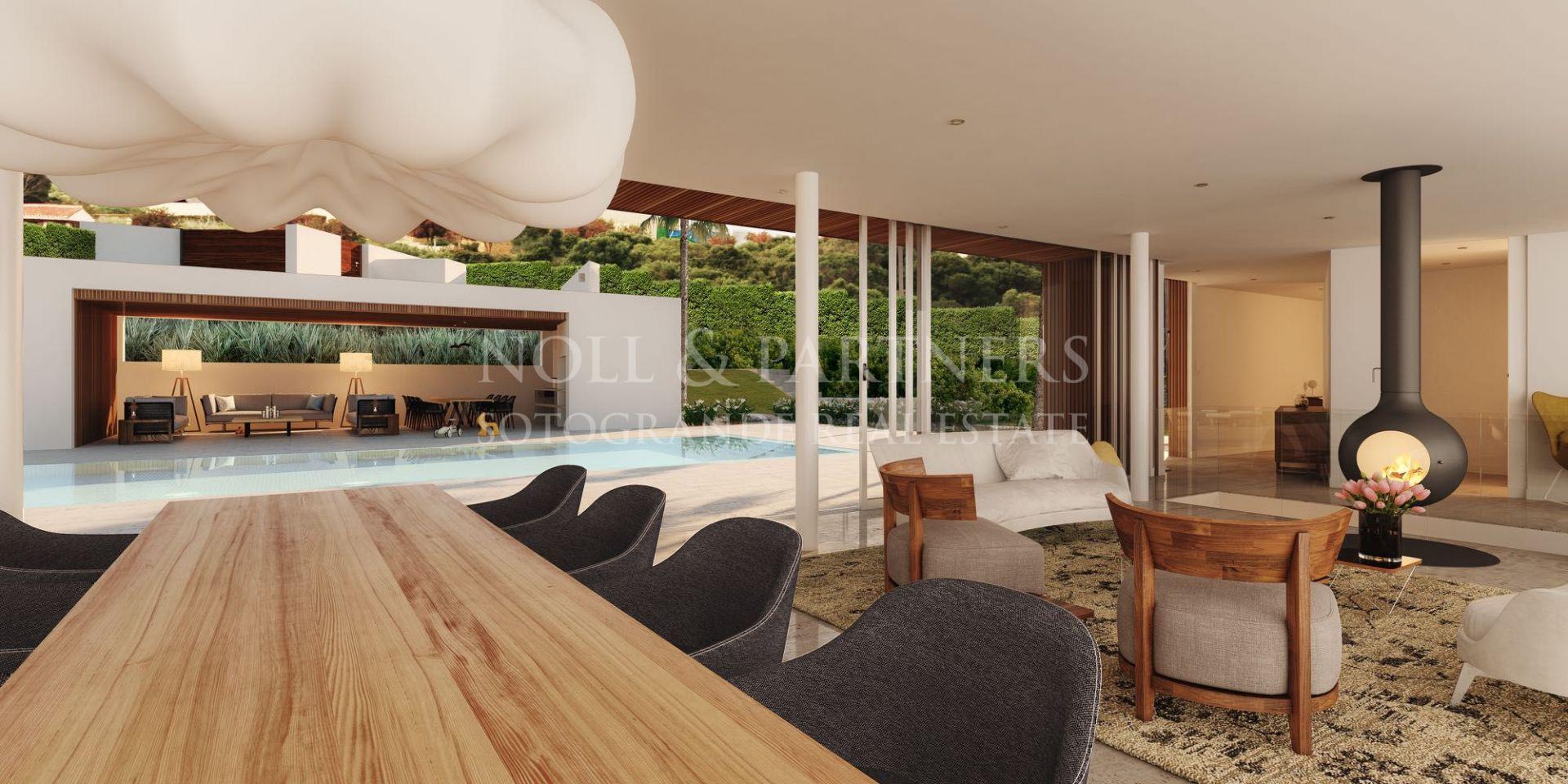 Sobre-plan Villa en venta en La Reserva de Sotogrande
