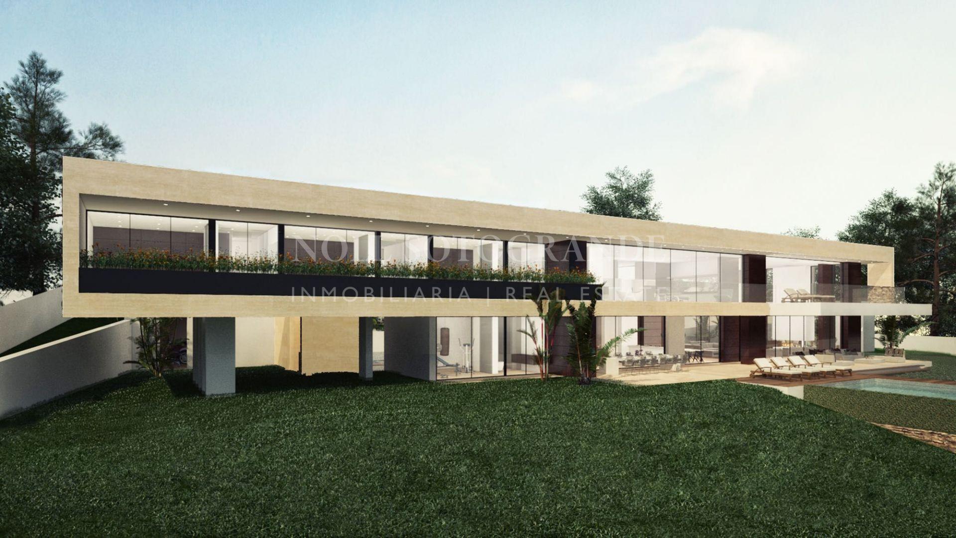 Luxuriöse villa zum Verkauf off-plan Sotogrande La Reserva