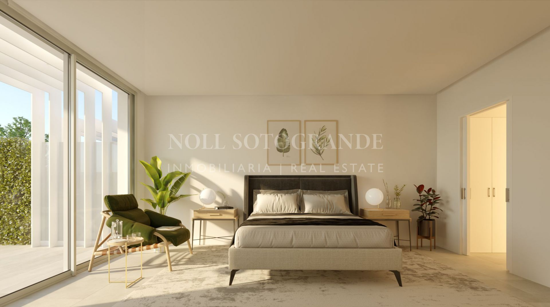 Contemporary townhouses for sale Sotogrande - La Finca
