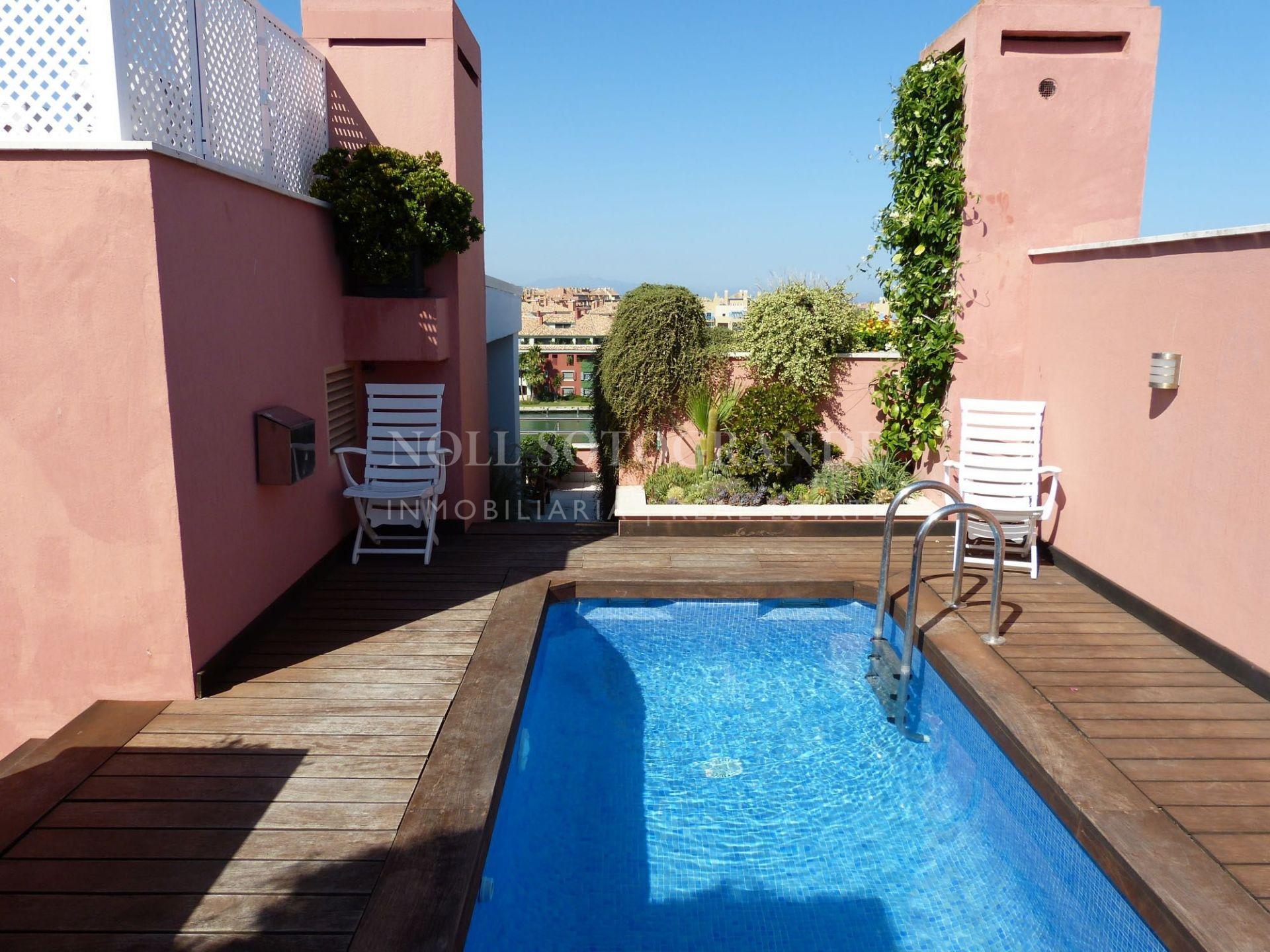 Marina Sotogrande, Penthouse Ribera De La Tenca for sale