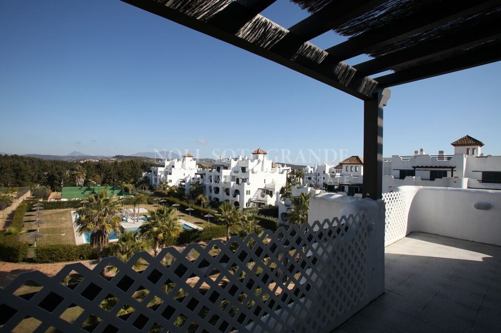 Large penthouse for sale Sotogrande Costa