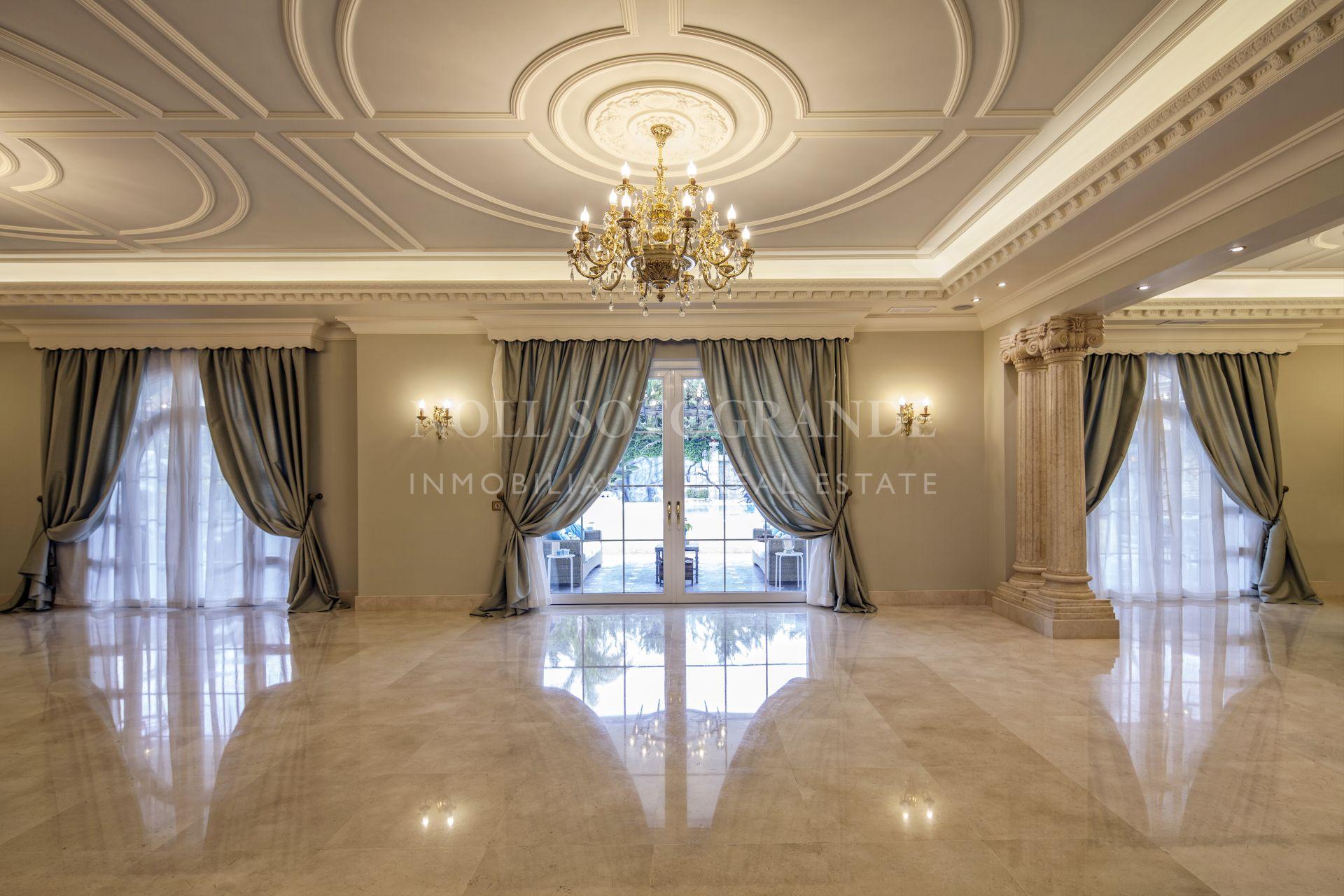 Amazing and unique Villa for sale Sotogrande Alto